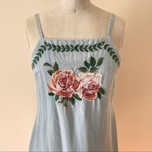 We Are Kindred Chambray Mini Dress